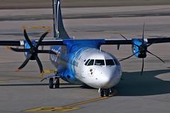 ATR 72-600 - ES-ATA - HAJ - 19.03.2019(2) (Matthias Schichta) Tags: haj hannoverlangenhagen eddv planespotting flugzeugbilder esata atr72 nordica