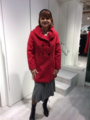Adler (Marie-Christine.TV) Tags: feminine transvestite lady mariechristine skirt coat boots laced schnürstiefel rock mantel gloves lederhandschuhe leather pretty tgirl tgurl