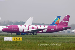 A320 D-AAAF ex TF-BRO WOW colours (shanairpic) Tags: jetairliner passengerjet wow shannon a320 airbusa320 tfbro daaaf