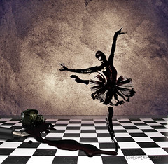 the dance (VooDoo Works) Tags: dance photomanipulation creativity ink surreal imagination