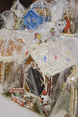 Gingerbread House Decorated by Day & Night Dining (NottawasagaResort) Tags: nottawasagaresort nottawasaga nottawasagainn nottawasagainnresort inn resort hotel raffle humane society gingerbread gingerbreadhouse candy house chocolate frosting christmas charity alliston allistonontario donation staff event dogs cats pets sugarplumfair sugar plum fair spf barbie cookie monster local animals