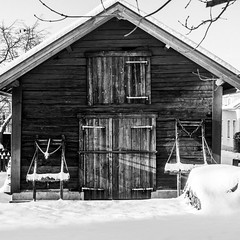 BW kind of mood (Mattias Lindgren) Tags: nikon d600 sweden 50mm f18 winter mood bw 50mmf18 nikond600