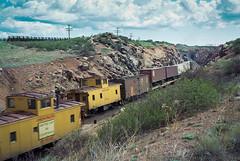 Sherman Hill Meet (4/4) (Brandon R. Smith) Tags: caboose hermosatunnel locomotive overlandroute railroad shermanhill train unionpacific wyoming