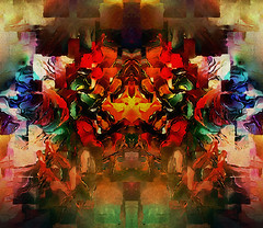 balance... (Mark Noack) Tags: light color photoshop layer layering surreal expressionism abstract psychedelic futurist abstraction