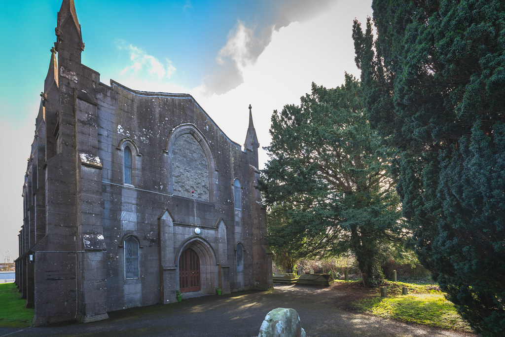 ST COLUMBA'S CHURCH AND GROUNDS IN SWORDS COUNTY DUBLIN [CHURCH ROAD]-148798