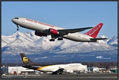 N351AX Omni Air International - OAI (Bob Garrard) Tags: n351ax omni air international oai boeing 767 anc panc