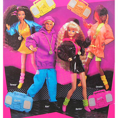 1992 Barbie Ken Teresa Christie Rappin' Rockin' (Barbie Collectors Guide '90s) Tags: 1992 barbie ken teresa christie rappin rockin