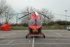 London's Air Ambulance in Colney Hatch (kertappa) Tags: img3550 air ambulance londons london hems doctor paramedics hospital glndn emergency helicopter kertappa colney hatch powerleague barnet