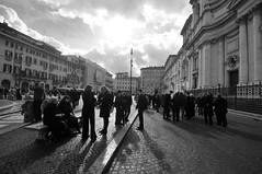 Missa est... (jeangrgoire_marin) Tags: contrejour counterlight monochrome candids urban streetphotgraphy churchgoers