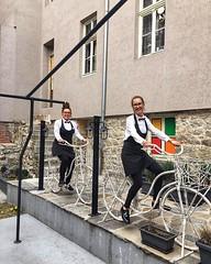 Пловдивско ни е! 💐🚲♂️ • • • • #plovdiv #plovdiv2019 #smokini #ladiesonbikes #spring #ladies #waiters #bestteam #bikelife #bike #smile (Smokini) Tags: smokini restaurant plovdiv ресторант пловдив vegetarian glutenfree vegan вегетариански веган