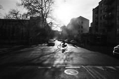 Analog; Ilford PAN 100 (ewitsoe) Tags: analog analogue bnw blackandwhite fm2 ilfordpan100 monochrome nikon warszawa erikwitsoe erikwitsoecom mono poland warsaw street urban cinematic scene day light shadows spring warm architecture filmy film grain grainisgood moments captures
