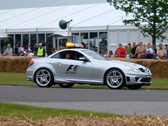 2005 Mercedes SLK F1 Pace Car (Marc Sayce's Old Digital Photos) Tags: mercedes slk f1 formula one safety pace car goodwood festival of speed 2005 june