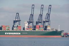 IMGP6988 (mattbuck4950) Tags: england unitedkingdom europe water boats rivers northsea january cranes essex harwich camerapentaxk70 lenssigma18300mm 2019 riverstoursuffolk felixstowe portoffelixstowe gbr