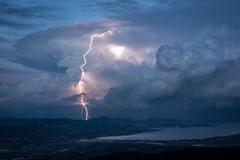 Extra (Vianney Rudent) Tags: storm orage stormchaser stormhunter sainttropez var paca nikond810 nikkor eclair foudre cavalaire frenchriviera chasseurdorage cotedazur heurebleue bluehour extranuageux lightningtrigger weather