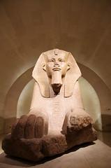 The Louvre (sarowen) Tags: thelouvre louvremuseum muséedulouvre eqyptian egyptianantiquities paris parisfrance france sphinx grandsphinx