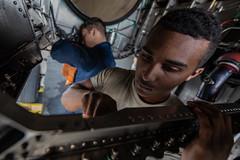 190118-F-DM566-0086 (Official U.S. Air Force) Tags: f15 eagle inspection inspect integrity bay airmen maintenance clean engine turbofan afterburner kadenaairbase okinawa japan jp