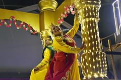 Chingay @ Chinatown (chooyutshing) Tags: performers decoratedfloat lightedup display thrumnathiruvizharoyalweddingprocession chingaychinatown eutongsenstreet chinesenewyear2019festival celebrations attractions peoplesassociation narpani singapore