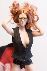 All Business 2019 (edwicks_toybox) Tags: 16scale gactoys tbleague businesssuit eyeglasses femaleactionfigure highheels jacket phicen poptoys redhead seamlessbody shirt skirt vest