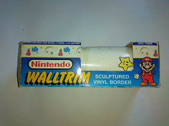 North American Decorative Products Super Mario Bros Nintendo Wall Trim 29 (gamescanner) Tags: north american decorative products super mario bros nintendo wall trim covering walltrim decor sculpted vinyl border upc 058559709011 058559709035 rosewall inc 1989 sku 70902