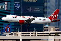 Virgin America | Airbus A320-200 | N642VA | Las Vegas McCarran (Dennis HKG) Tags: aircraft airplane airport plane planespotting canon 7d 100400 lasvegas mccarran klas las virginamerica vx vrd usa airbus a320 airbusa320 n642va