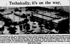 Oct1976no29 (mat78au) Tags: october 1976 melbourne newspaper extracts plan proposed new dandenong technical college oct 76 melb