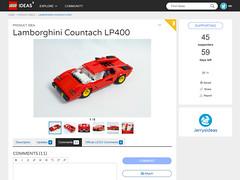 I have an Idea! (Jerry Builds Bricks) Tags: lego ideas lamborghini countach lp400 jerrybuildsbricks