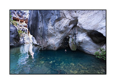 Adventurous female swimming out from a cave in a canyon (sugarbellaleah) Tags: wombeyancaves adventure woman canyon caves environment erosion geology landscape limestone nature outdoors rock tourism travel weathered swimming water deep blue exploring adventurous female active extremesport beautiful wonder awe amazing stunning scenic scenery remote floating