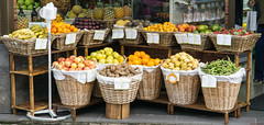 Fruits et légumes - Ponta Delgada, Açores, Portugal - 5857 (rivai56) Tags: pontadelgada açores portugal 5868 pt fruits et légumes