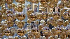 still christmas decoration in the mall (MLe Dortmund) Tags: mr mirror christmas ball weihnachtsdeko spiegelung deokoration licht again