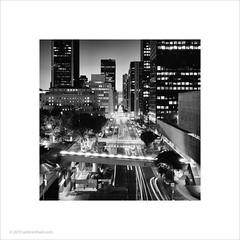 Downtown Los Angeles #2 (Ian Bramham) Tags: downtown losangeles night southflowerst