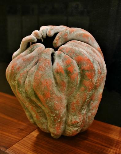 Pumpkin by Katsumata Chieko, Diana Reitberger Collection, Gardiner Ceramic Museum, Toronto, ON