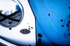 (E. Nelson) Tags: volkswagen vw bug beetle abstract rust patina vintage classic sanantonio texas ericnelson exnimages 2018 car carshow