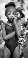 Little girl (Pierre de Champs) Tags: d750 nikonphotography portrait antilles photographer caribbeanlover caribbean carnival carnaval blackandwhite nikon guadeloupe ilesdeguadeloupe