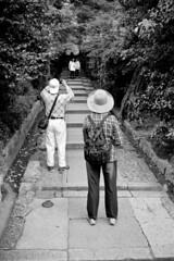 14.23-33 (analogish) Tags: 35mm 135film agfaapx100 bw blackwhite colorminotar35mmf28 film higashiyama japan kyoto minox35 reflectaproscan7200 schwarzweiss photographingthephotographer