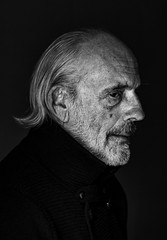 Christopher Lloyd (.Betina.) Tags: man doc portrait profile portraiture blackandwhite monochrome mood mono moody betinalaplante bb backtothefuture actor 2018