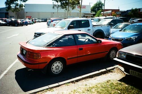 1989 Toyota Celica SX rear