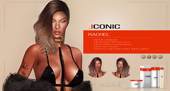 ICONIC.RACHEL. (Neveah Niu /The ICONIC Owner) Tags: iconic rachel fameshed x event 3d mesh original multistyler adult