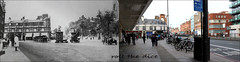 Finchley Road`1925-2019 (roll the dice) Tags: london swisscottage old surreal local history sad mad vanished bygone retro architecture streetfurniture nostalgia comparison changes collection canon tourism tourists traffic transport shops shopping urban england yuk classic art oldandnew pastandpresent hereandnow tube roundel underground fashion empty people horsecart bus o2 churchofengland kids fountain pret cars bicycle aecns general waitrose johnbarnes chimney windows