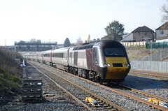 XC HST 43304, Filton Abbey Wood (sgp_rail) Tags: fit filton abbeywood abbey wood train rail railway station bristol south glos gloucestershire winter feb february 2019 cross country hst intercity 43304 arriva