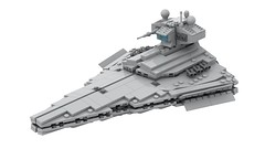 Lego VICTORY Class STAR DESTROYER | STAR WARS (DarthDesigner) Tags: ldd moc builds instructions bricks brick mocs legodigitaldesigner starwars oninemesis thedarthdesigner tdd military lego digitaldesigner darth victoryclass empire stardestroyer