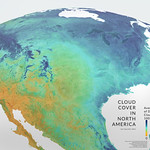 Cloud Cover in North America