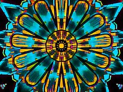 Digital Turquoise (Kombizz) Tags: kombizz kaleidoscope experimentalart experimentalphotoart photoart epa samsung samsunggalaxy fx abstract pattern art artwork geometricart dae 2068185417 digitalturquoise manipulation