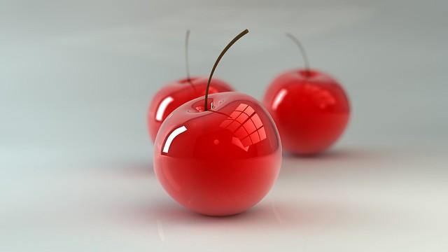 Обои вишня, ягода, 3d картинки на рабочий стол, фото скачать бесплатно