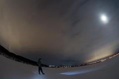 Волжские просторы (DmitryYushkevich) Tags: canon canon6d 6d canonphotography canonphoto canonrussia canondslr dslr zenitar zenitar16 m42 russianlens winter russianwinter sky volga river snow ice longexposure nature clouds bridge naturallight