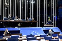 Plenário do Senado (Senado Federal) Tags: bandeiranacional plenário senadorjorgekajurupsbgo senadorreguffesempartidodf sessãonãodeliberativa brasília df brasil bra