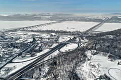 Columbia, PA 02-02-2019 (WabbyTwaxx) Tags: winter frozen susquehanna river columbia pa pennsylvania aerial drone route 30 lincoln highway