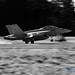 B&W of A VAQ-129 Touch on OLF Coupeville