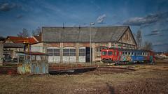 Train on cleaning (malioli) Tags: train railstation railway karlovac croatia hrvatska europe canon