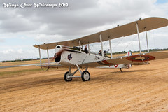 De Havilland DH4 (Rhodie 63) Tags: dehavillanddh4 wingsoverwairarapa airshow wairarapa newzealand vehicle aircraft dh4 biplane classic aviation warbird