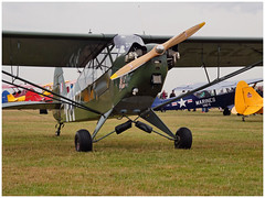 ¨PIPER J3 C 65 Cub - 43-0579 - F-GLRV (Aerofossile2012) Tags: avion aircraft aviation meeting airshow piper laferté 2017 ¨piper j3 c 65 cub 430579 fglrv